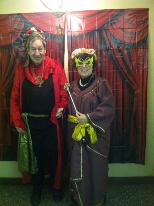 Purim Poses Photo Booth